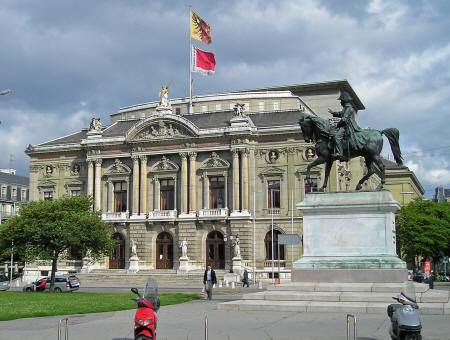 Grand Theatre in Geneva Switzerland