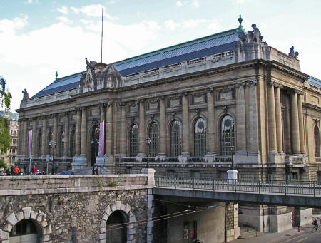 Art and History Museum in Geneva Switzerland