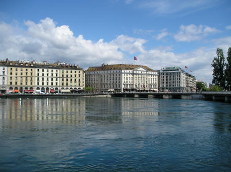 Geneva Switzerland Tourist Bureau